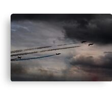 Red Arrows - Into the Storm Canvas Print