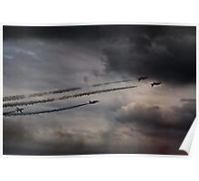Red Arrows - Into the Storm Poster