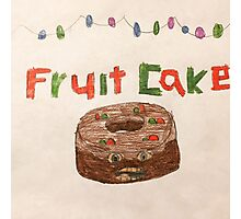 Fruit Cake Photographic Print