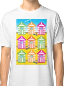 SUMMER BEACH HUTS Classic T-Shirt