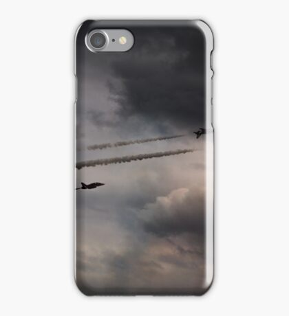Red Arrows - Into the Storm iPhone Case/Skin