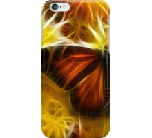 Butterfly on Flowers (soft) iPhone Case/Skin