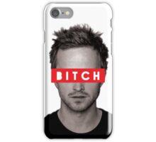 Jesse Pinkman - Bitch. iPhone Case/Skin