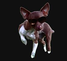 Inquisitive Chihuahua  Unisex T-Shirt