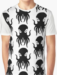 Black Octopus Graphic T-Shirt