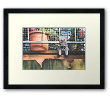 Howdy Neighbor Framed Print