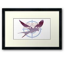 Hunger Games Framed Print
