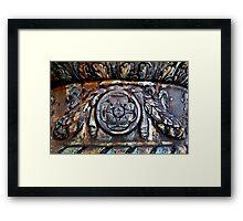 Bronce Framed Print