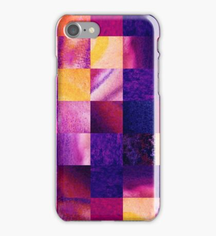 Geometric Design Squares Pattern Abstract V iPhone Case/Skin
