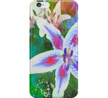 Watercolor Flower numero dos iPhone Case/Skin