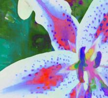 Watercolor Flower numero dos Sticker