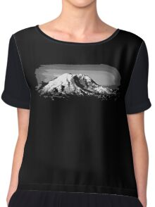 Mount Rainier Chiffon Top