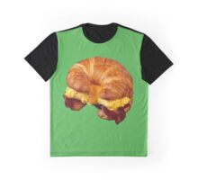 EGG CHEESE AND BACON (CROISSANT) Graphic T-Shirt