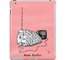 Ham Radio, again iPad Case/Skin