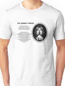 The Serenity Prayer 3 (for light colors) Unisex T-Shirt