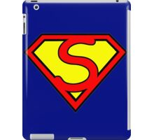 discount superman iPad Case/Skin