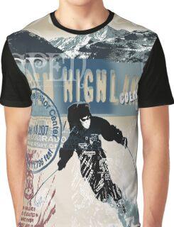 aspen skiing Graphic T-Shirt