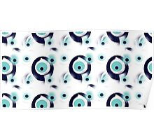 Talisman protect from Evil Eye pattern Poster