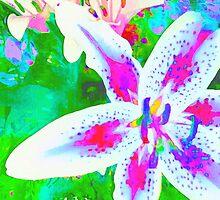 Watercolor Flower numero quatro by eltdesigns