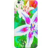 Watercolor Flower numero quatro iPhone Case/Skin