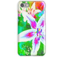 Watercolor Flower numero quatro iPhone Case/Skin