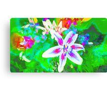 Watercolor Flower numero quatro Canvas Print