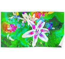 Watercolor Flower numero quatro Poster