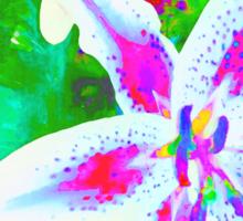Watercolor Flower numero quatro Sticker