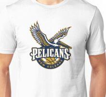 pelicans new orleans logo Unisex T-Shirt