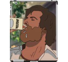 Milk was a bad choice iPad Case/Skin