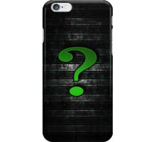 Batman Riddler iPhone Case/Skin