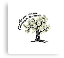 Hunger Games Hanging Tree Canvas Print