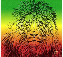 Rasta Lion numero dos Photographic Print