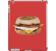 EGG HAM AND CHEESE (ENGLISH MUFFIN) iPad Case/Skin