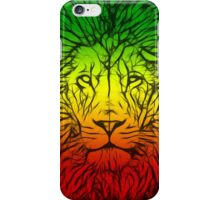 Rasta Lion numero tres iPhone Case/Skin