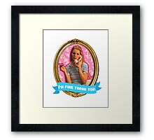 Margot Tenenbaum Frame Framed Print