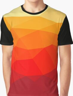 Abstract polygon background Graphic T-Shirt