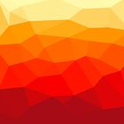 Abstract polygon background by Alexzel