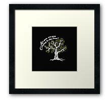 Hunger Games Hanging Tree 2 Framed Print