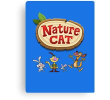 Nature Cat Canvas Print