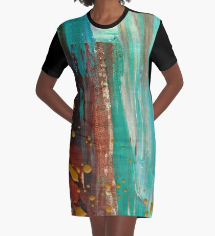 Paradise Cove Graphic T-Shirt Dress