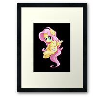 Chibi Fluttershy Framed Print