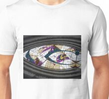 Stained Glass Ceiling - Hotel Rabat Unisex T-Shirt