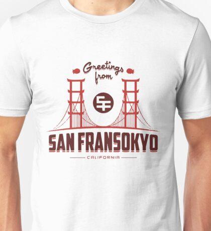 Big Hero 6: San Fransokyo Unisex T-Shirt