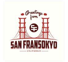 Big Hero 6: San Fransokyo Art Print