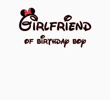 Girlfriend of Birthday Boy Womens Fitted T-Shirt