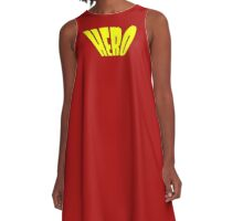 Hero T-Shirt - You Are My Heroine A-Line Dress