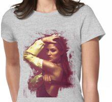 Debra Morgan/dexter- splatter t-shirt Womens Fitted T-Shirt