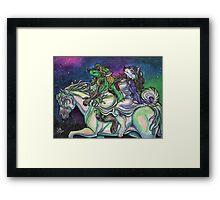 Night Ride Framed Print