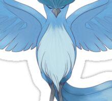 Pokemon Go Team Mystic Blue Articuno Sticker